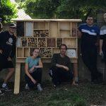 Insektenhotel – Projekt abgeschlossen
